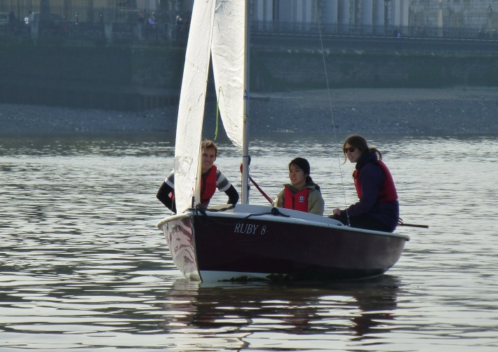 Learning to Sail at Shadwell