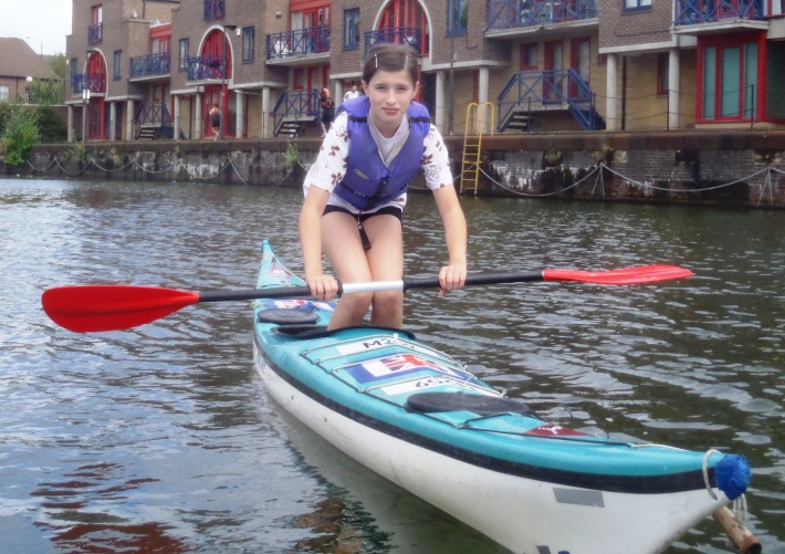 Kayaking for schoolgroups