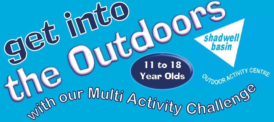Get into the Outdoors - with our youth club's multi-activity challenge