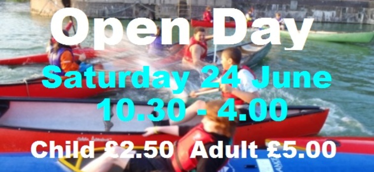 Come and try the activities at our Open Day on Saturday 24 June, 10.30 - 4.00.