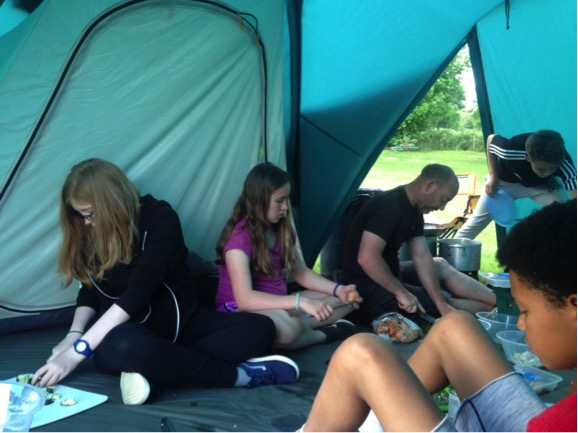 Camping at Matlock