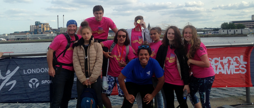Two silver medals for the sprint and slalom teams in the London Youth Games!